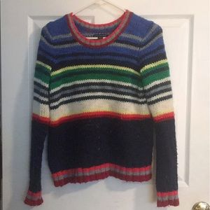 Cozy, colorful, warm sweater.